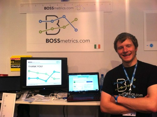 Dublin Web Summit - Bossmetrics Analytics