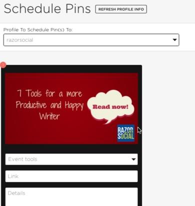 piqora schedule pins