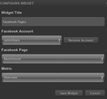 cyfe widget configuration