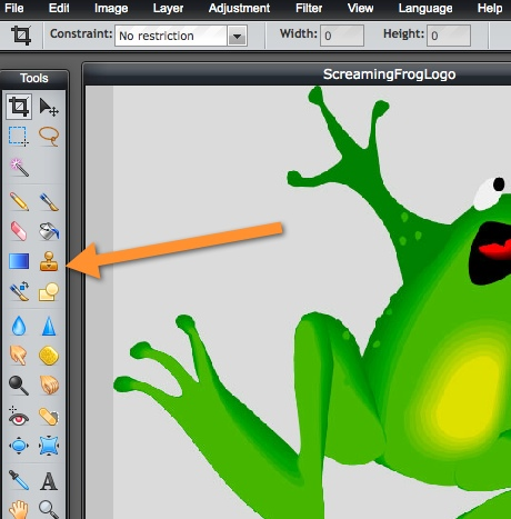 pxlr editor