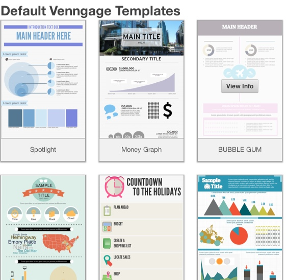 Vennegate Templates - Make your own infographic