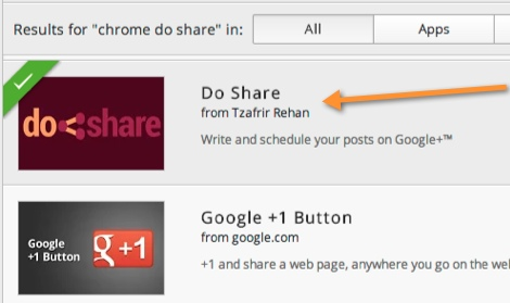 DoShare - Install Plugin