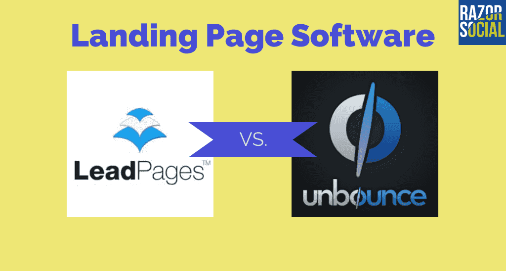Landing Page Software: Leadpages Versus Unbounce