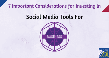 SM tools for business - big