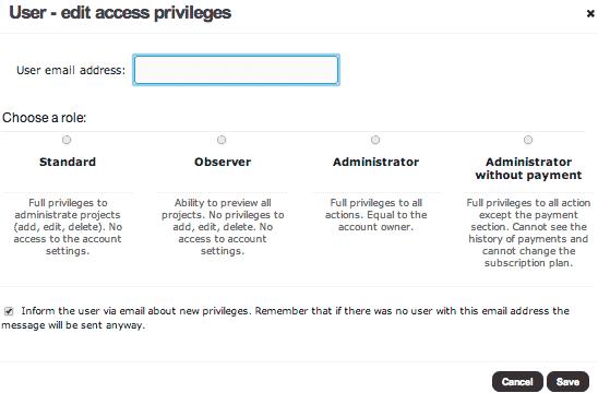 Brand24 user access
