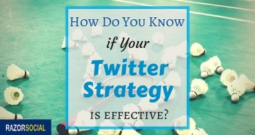 effective twitter strategy