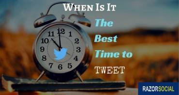 best time to tweet - big