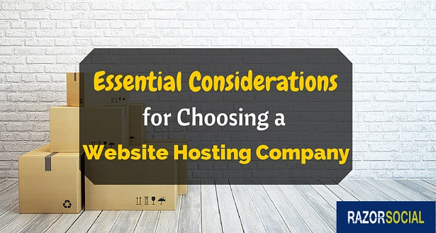 website hosting company