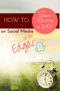 Save 30mins a Day with Edgar