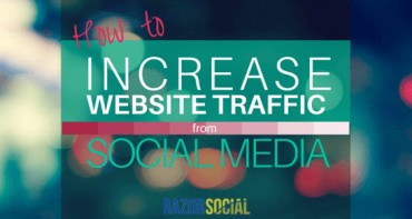 How to Increase Website Traffic From Social Media (landscape)