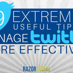 19 Extremely Useful Tips to Manage Twitter Effectively