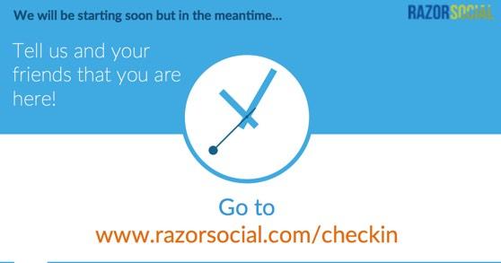 Webinar Checkin