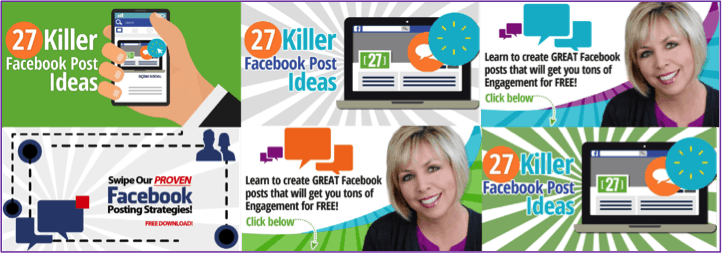 27 killer FB ideas graphics