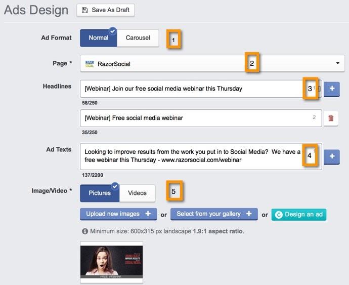 AdEspresso Design