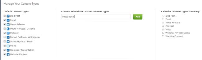 Content Types 2 Calendar Admin DivvyHQ