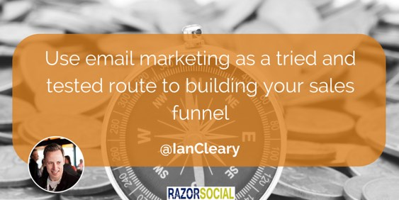 Build your sales funnel