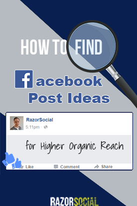 FB Post ideas