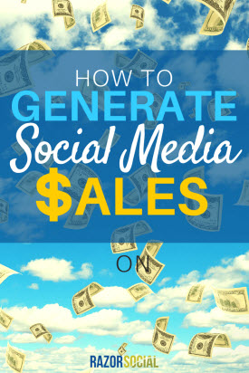How to Generate Social Media Sales