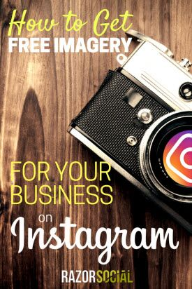 How to Get Free Imagery for Your Business on Instagram (portrait)