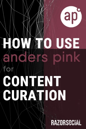 content curation anders pink