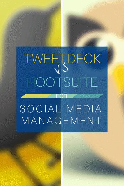 Tweetdeck Vs Hootsuite (portrait)