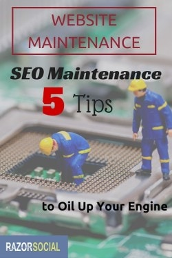 SEO WEBSITE MAINTENANCE
