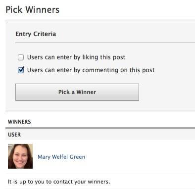 Woobox Pick a Winner