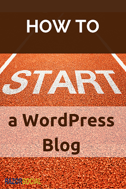 a WordPress Blog