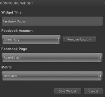 cyfe widget configurations