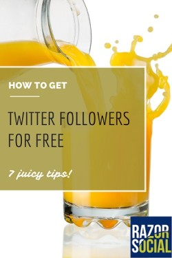 Get twitter followers for free