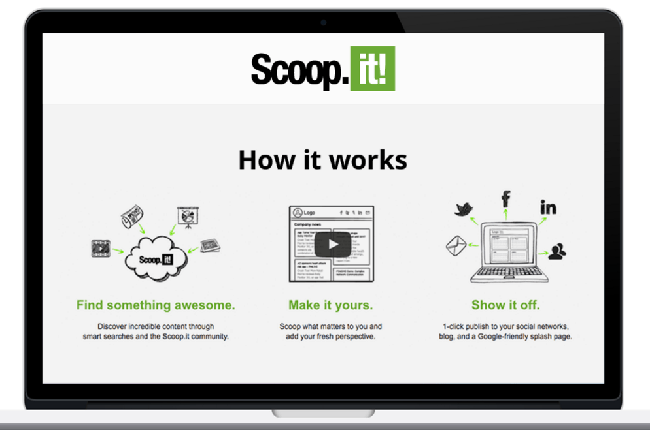 ScoopIt - Content Curation
