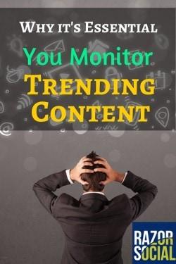 trending content